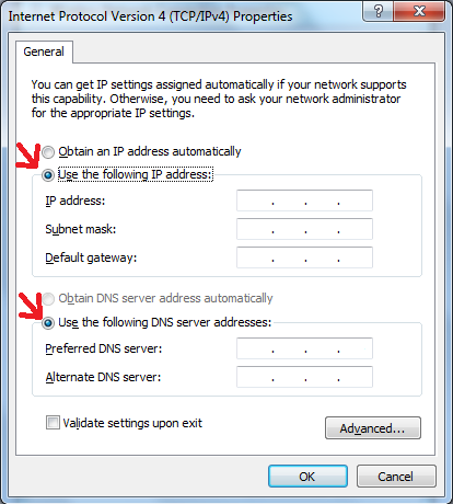 how to get a static ip for free