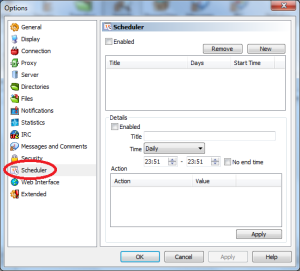 how to set up emule