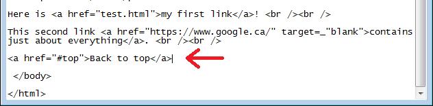 Html part 4 links internal, external and anchor.