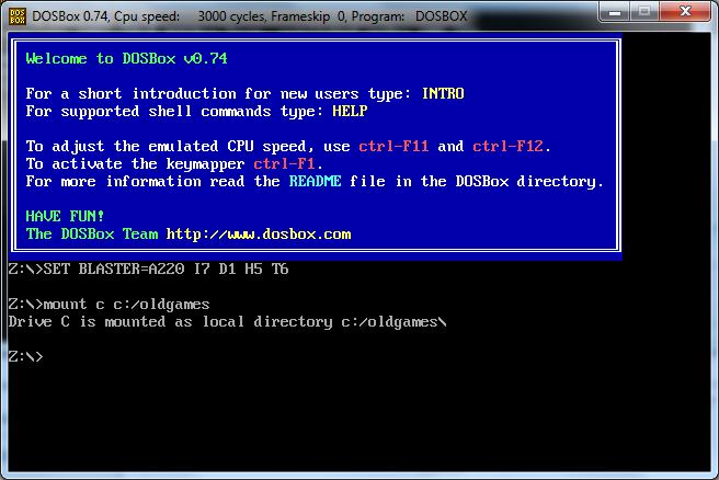 DOSBOX NO CDROM WINDOWS 7 X64 TREIBER