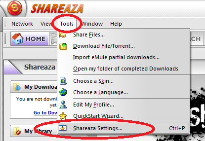 shareaza torrent