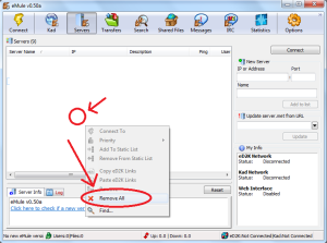 How to Connect to the ED2K and Kad Networks (eMule)