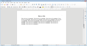 Guide: LibreOffice Writer Part 3: Paragraphs, Spacing, and